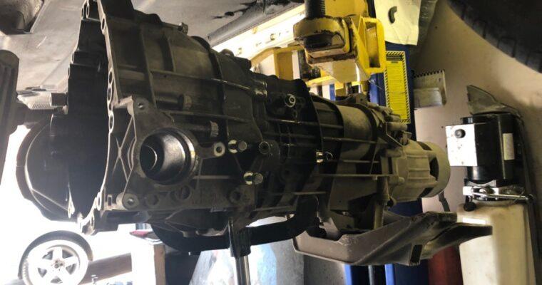 Audi A4 B8 FL 1.8 TFSI, МКПП — замена сцепления с маховиком (Sachs)