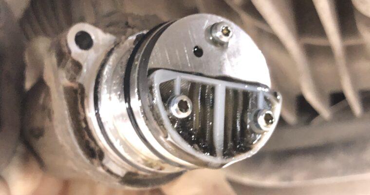 Audi Q3 ремонт насоса полного привода Haldex 4 поколения